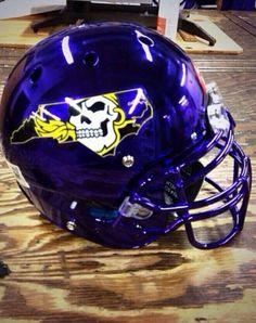 East Carolina helmet