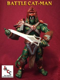 Battle Cat-Man Masters of the Universe Classics Custom (Masters of the Universe) Custom Action Figure