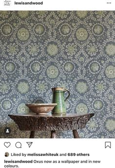 France Colors, A N Wallpaper, Textile Design, Colours, Interior Design, Wood, Bedroom Ideas, Bathroom, Instagram