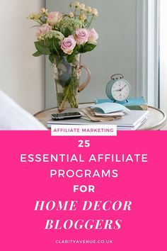 Popular 13 Best Home Decor Affiliate Programs Okay, so the EPC for this affiliate program isn't life-changing, but it's still st. Earn Money Online, Make Money Blogging, How To Make Money, Small Business Marketing, Online Business, Affiliate Marketing, Email Marketing, Internet Marketing, Content Marketing