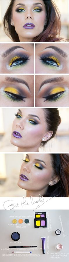 Yellow makeup looks linda hallberg 52 ideas Love Makeup, Makeup Art, Makeup Tips, Beauty Makeup, Makeup Looks, Hair Makeup, Makeup Ideas, Linda Hallberg, Bare Essentials Makeup