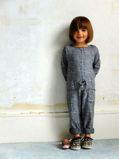 Gorgeous (and oh so comfy) kid's romper. #