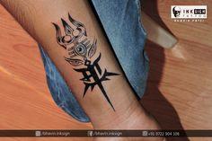 Tattoo Done By : @bhavin.inksign (Professional tattoo artist ) At : Inksign Tattoos - india , Best Tattoo Studio(Artist) In Rajkot,Gujrat. Call/Whatsapp: 9722 904 108 for appointments.. Follow on insta : https://www.instagram.com/bhavin.inksign/ #Trishutattoo #trisulwitheyes #MaaTattoo #Trishul_maa_eyes #SmallTattoo #ForearmTattoo #Creativetattoo #UniqueTattoos #InksignTattooindia #BhavinInksign #BestTattooArtist #Rajkot #Gujrat #ProfessionaltattooArtist #tattooStudioRajkot #Indian