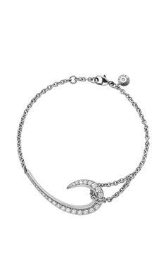 White Gold And White Diamond Hook Bracelet by Shaun Leane - Spring-Summer 2015 (=)