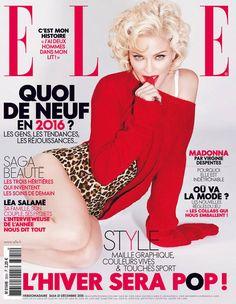 ELLE.fr Last but not least. Pour le dernier numéro de l'année, ELLE dresse le portrait de la plus rebelle des pop stars : Madonna. Récemment de passage à Paris, dans le cadre de sa tournée « Rebel ...