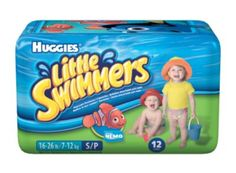 Huggies Little Swimmers - the under nappy of the Water Babies double nappy system