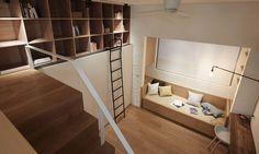 Taipei micro apartment by A Little Design