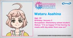 Brothers Conflict..