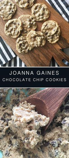 Joanna Gaines Chocolate Chip Cookie Recipe - Recipe Diaries #cookies #easy #joannagaines #celebrities