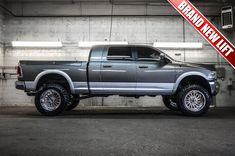 """Loaded & Lifted Mega Cab '13 Dodge Ram 2500 Laramie 4x4 with a Brand New 6"""" Fabtech Performance Lift with 20"""" Fuel Forged FF16 Wheels on 37"""" x 13.50 R22 Nitto Trail Grappler Tires For Sale 