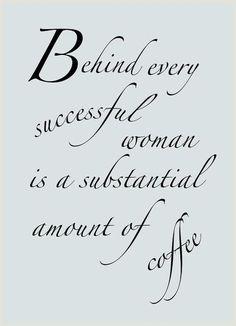Love of coffee....