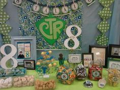 "LDS Baptism Party Ideas | It's Great to be 8 and CTR (""chews"" the Right) candy bar! The kids ..."