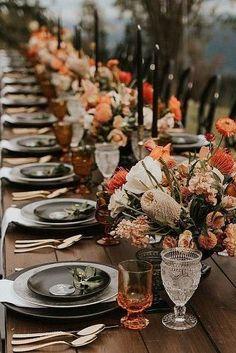 Wedding Reception Table Decorations, Wedding Table Settings, Wedding Themes, Wedding Dresses, Wedding Ideas, Wedding Songs, Decor Wedding, Wedding Centerpieces, Wedding Cakes