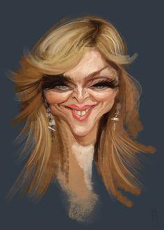 [ Madonna ] - artist: Alberto Russo - website: http://stingarea.blogspot.com/