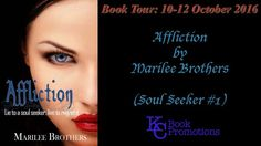 BOOK TOUR - Affliction by Marilee Brothers    Title: Affliction  Author: Marilee Brothers  Series: Soul Seeker #1  Release Date: 29 February 2016  Publisher: Wild Rose Press  Amazonhttp://amzn.to/2eeSWyX  Goodreadshttp://ift.tt/2enpZB3  Summary:  Twenty-two year old Honor Melanie (Mel) Sullivan has an affliction. Due to childhood trauma and inappropriate social behavior she is diagnosed with Aspergers a form of autism. But Mel knows Aspergers is not her true affliction. She prefers not to…
