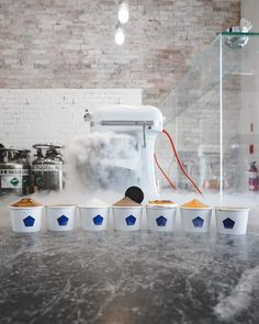 17 Design-Minded Ice Cream Shops Worth Traveling The World For Ice Cream Parlor, Shop Interiors, Frozen Treats, Gelato, Traveling, Shops, Sugar Baby, Boro, Crepes