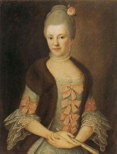 1770s - Sophia Helehe von Rosen by Michael Ludwig Claus