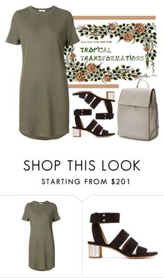 """""""Untitled #5754"""" by cherieaustin ❤ liked on Polyvore featuring 321, Proenza Schouler, DKNY, dkny and proenzaschouler"""