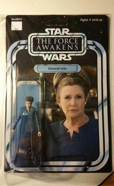 Custom Vintage General Leia Black Series Action Figure 3.75 Star Wars TFA Hasbro | Toys & Hobbies, Action Figures, TV, Movie & Video Games | eBay!