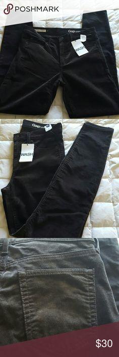 Brown Gap corduroy stretch true skinny pants 30 R New Brown gap corduroy pants. MODERN STRETCH TRUE SKINNY. Size 30 regular. GAP Pants Skinny