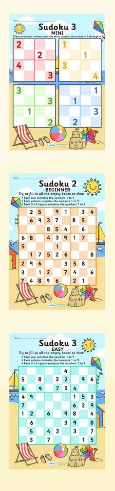 The seaside- Sudoku puzzles