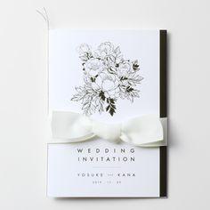 結婚式 招待状 Boutonniere|LOUNGE WEDDINGの結婚式 招待状