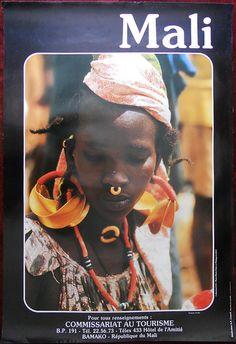Mali tourism poster | eBay