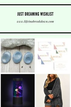 Just Dreaming WishlistYou can find Crystals and more on our website.Just Dreaming Wishlist Just Dream, Just Love, Jellyfish Tank, Thing 1, Pick One, Crystals, Blog, Internet, Wellness