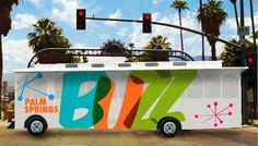 Buzz, free shuttle bus in Palm Springs
