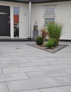 Inspiration - Gångar Garden Tiles, Home Office Design, Walkway, Garden Inspiration, Terrace, Modern Design, Villa, Home And Garden, Backyard