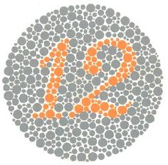 Try the free color blindness test!