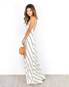 Love it! The Go Around Maxi Dress