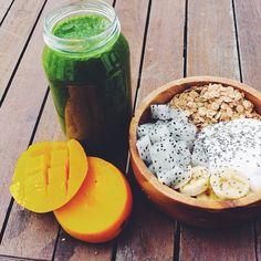 teenshealthandfitness:  Healthy breakfast idea!