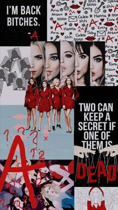 Pretty Little Liars Poster: 40 Interesting Printable Posters - Pretty Little Liars Meme, Pretty Little Liars Characters, Pretty Little Lies, Iron Man Stark, Teenager Cool, American Crime, American Horror, Pretty Wallpapers, Wallpapers Tumblr