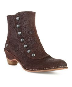 These are A.MA.ZING. Fantasy Brown Mazuela Ankle Boot by Neosens on #zulily today!