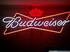 Budweiser Neon Sign - Buscar con Google