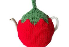 Tea Cosy Tomato Hand Knitted