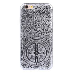 Classic Retro Soft TPU Back Case for iPhone 6/ 6S - Grey