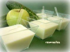 Gazpacho pepino y manzana