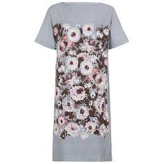 Buy Hobbs London Beth Dress, Grey Multi Online at johnlewis.com
