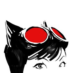 Selina Kyle, Catwoman. Simple but expresses what and who it is.