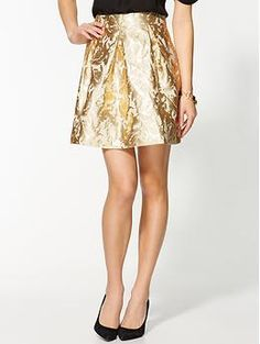 Amazing gold skirt just $29!