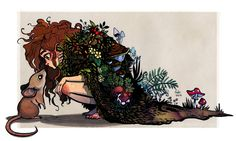 forest child by Fukari on DeviantArt