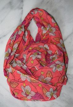 Spring Day Floral Scarf