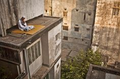 Getting Lost On A Roof by Wahid Adnan Art of Building 2014 Finalists