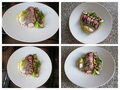 Petit   compote  salade    de  veau, courgette   farci au la mode  rustique    Gino D'Aquino