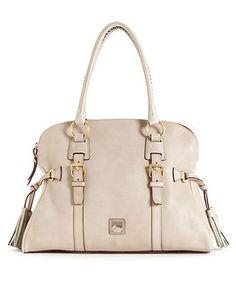 Dooney & Bourke Handbag, Florentine Domed Buckle Satchel - Dooney & Bourke - Handbags & Accessories - Macy's
