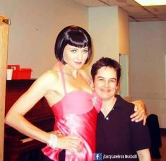 "The ""Gentlemen Prefer Blondes"" Musical, backstage pics, with Lucy Lawless as Dorothy, 2005 Photo Credit: Diana Gervais"