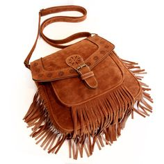 Abby Fringe Handbag