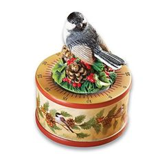 Chickadee Wind Up Kitchen Timer
